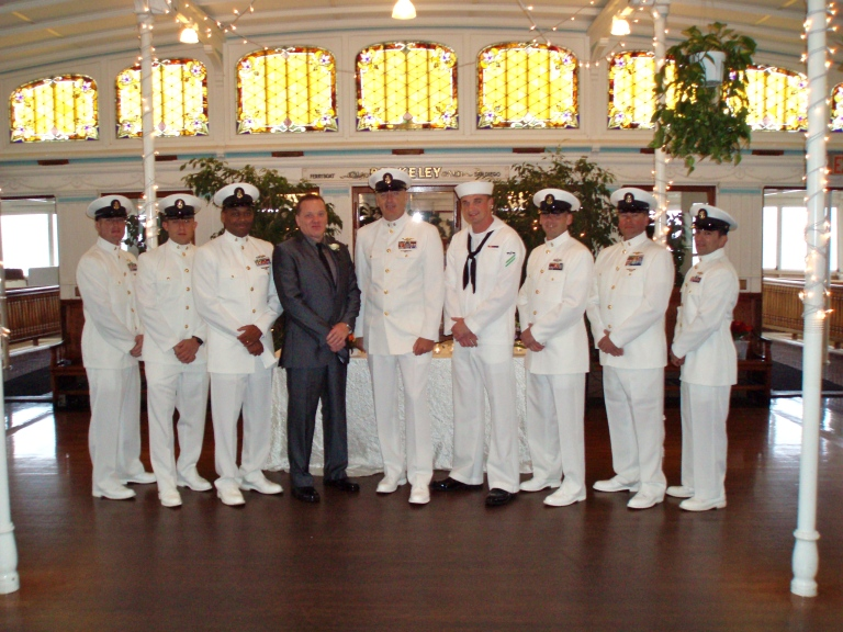 Groomsmen in uniform