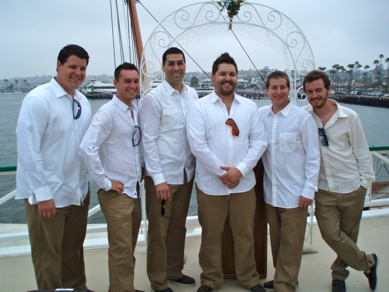West Deck with Groomsmen