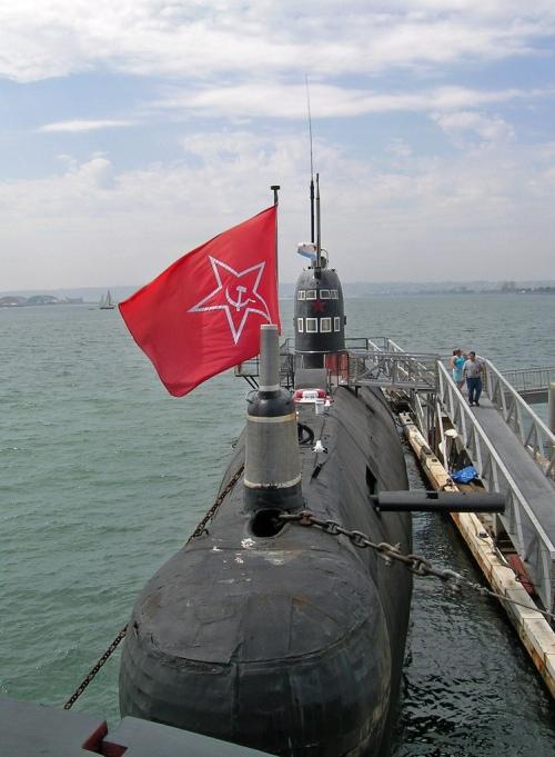 "Russian ""Foxtrot"" Submarine"