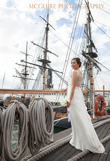 Wedding on the Star of India