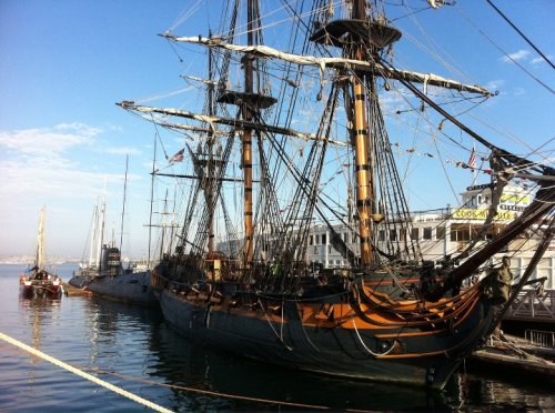 Events on the HMS Surprise