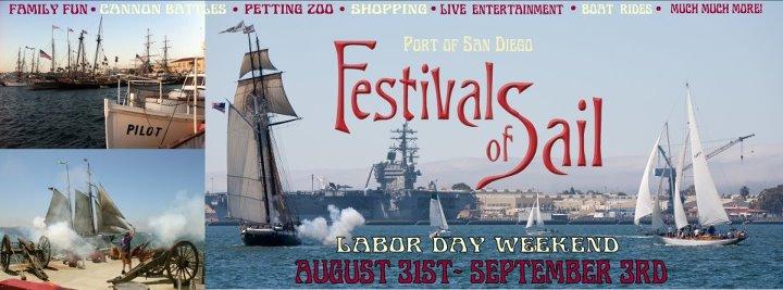 San Diego Bay Festival of Sail 2012