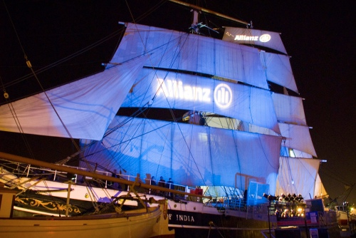 Corporate Event on the Star of India