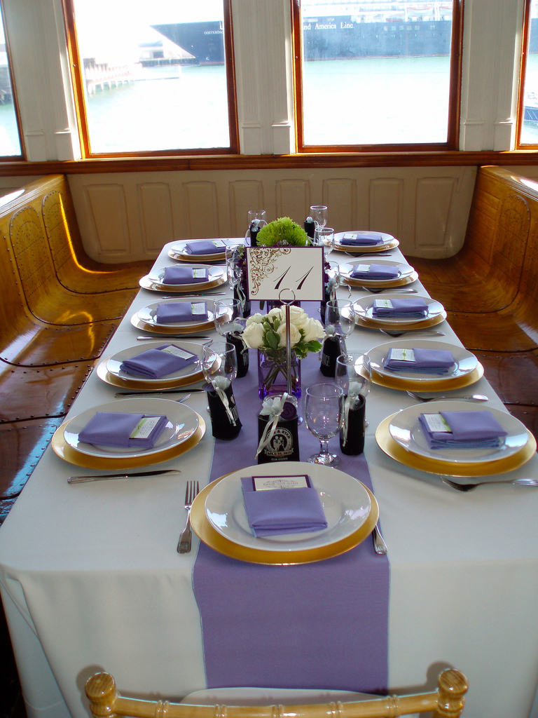 Catering and Tables at Event Venues