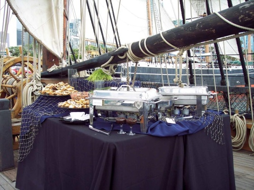 Event held on the HMS Surprise