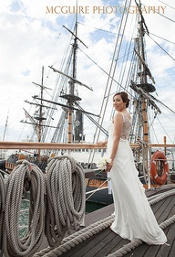 Bride on the Star of India